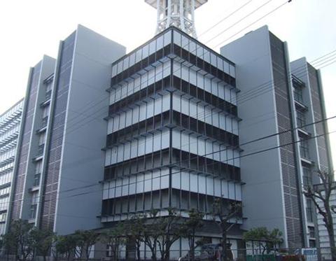 NTTコム大分原新ビル外壁改修