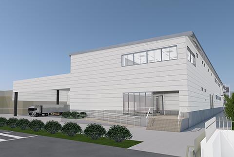 NTT印刷入間工場(完成予想図)