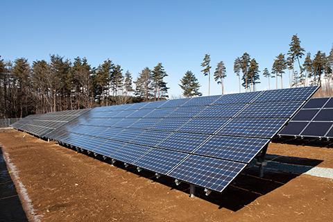 NTT-F太陽光発電システム